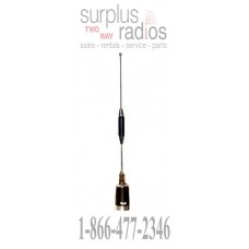 "Tram 1173 premium 35"" coil UHF 450-470MHZ 5.5dBd antenna with metal base and top 5/8 over 5/8 wave"