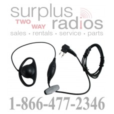 D ring shape earpiece with push to talk for Motorola CLS1410 RDX CP200 XTN XV1100 RDU2020