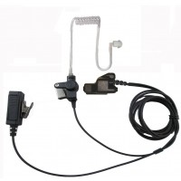 Two wire surveillance headset with push to talk for motorola XTS5000 XTS3000 HT1000 MTS2000 MTX8000