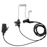 Lapel Microphone FBI Headset For Motorola XPR7350 XPR7380 XPR7550 XPR7580
