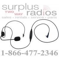 Single ear headset E395 M1 with push to talk for Motorola CP200 CT250 CP185 PR400 P1225 GP300 BPR40 SP50 CP100