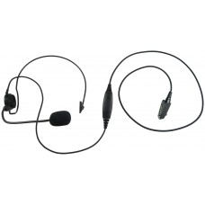 Single behind the head headset E395 S8 with boom mic for Icom F30 F40 F50 F60 M88 F70 F80 F3061 F4061 F3161 F4161 F70 F80 and more