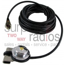 """Tram Browning 1246 UHF/PL-259 trunk mount antenna kit with 17"""" RG-58 cable"""