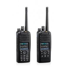 Kenwood NX-5400 700/800MHz 512 Channels 128 Zones 5 Watt Multi-Platform Digital Portable Transceiver - P25 (Phase I and II), NXDN & Analogue