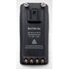 Hytera BL1703-EX - 7.4V 1700mAh ATEX and FM approved battery