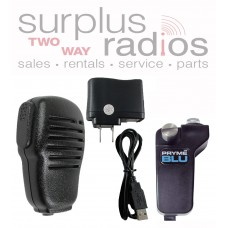 Pryme BT-511-S1 + BTH-SPM100 Bluetooth Speaker Microphone and Adapter for Kenwood TK2180 TK3180 TK2140 TK3140 and more