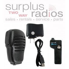 Pryme BT-555 + BTH-SPM100 Bluetooth Speaker Microphone and Adapter for Hytera DMR PD702 PD782 PD782G PD702G and more