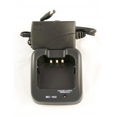 Rapid charger C160 for Icom F3161 F3163 F3161DT F4161 F4161DS F4163 F33 GT/GS and more