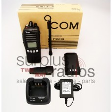 Icom F3161S 51 RC VHF 5 watt 512 channel 136-174 MHz