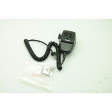 Motorola HMN3174B microphone with LED light and hang clip for motorola mobile radios