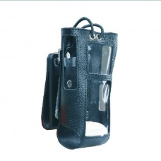 Hytera HY1050-AWD-KIT leather case with swivel D-Ring and nylon shoulder strap for hytera DMR models