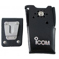 Icom leather carrying case with swivel belt loop holster F14 F24 F24S F4011 F3011 LCF14