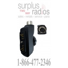 Pryme PA-555 X55 quick disconnect adapter for Hytera multi pin radios