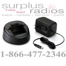 Motorola standard desktop charger kit for AXU4100, AXV5100, and CP125 RLN4940A