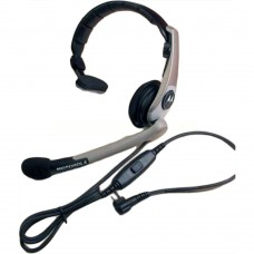 Motorola RLN5238 single-muff, lightweight NFL Style headset for CP200 SP50 XTNRDX P1225