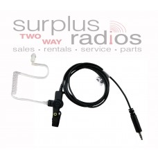 Motorola RLN5313B black comfort listen only earpiece for HT1000 XTS3000 XTS5000 MTS2000 XTS1500