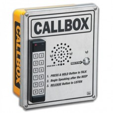 Ritron RQX-456-XT-KP UHF heavy duty tamper resistant outpost callbox with gateguard relay control and DTMF keypad