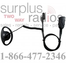 Pryme SPM-1232 Y3 Defender D ring headset for multi pin Vertex VX820 and VX920 series radios