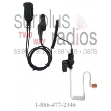 Pryme SPM-1332 Y3 Mirage two wire surveillance headset for multi pin Vertex radios