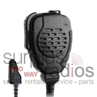 Pryme SPM-2111 K2 Trooper Professional quality heavy duty water resistant remote speaker microphone with 3.5mm audio jack