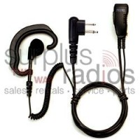 Pryme SPM-303EB Responder earhook headset with coil cord receiver
