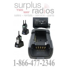 Power Products TWC2M + TWP-KW4-D Dual Radio Charger for Kenwood NX200 TK2180 NX300 TK3180 NX410 TK5210 TK5220 and more