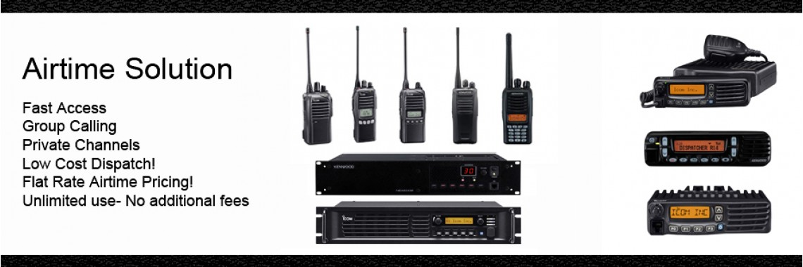 Surplus Two Way Radios - Airtime Solution