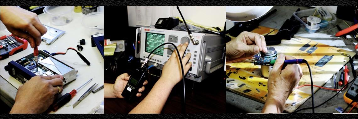 Surplus Two Way Radios - Repair