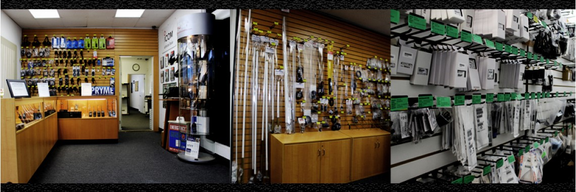 Surplus Two Way Radios - Show Room - About US