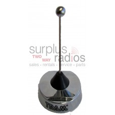 "Tram 1128 chrome 3"" NMO quarter wave pre-tuned 806-896MHz antenna"