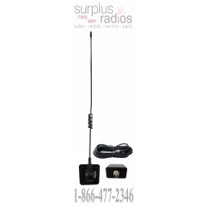 "Tram Browning 1199 28"" 25-1300mhz with 17ft of RG-58/U Cable and BNC Glass Mount Scanner Antenna Kit"