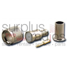 Tram 1301 Mini-UHF male 4 piece crimp for RG-58/U Connector