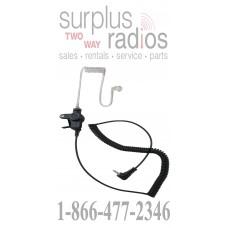 Listen only acoustic tube style earpiece E208 2.5mm for motorola Icom vertex kenwood otto speaker mics with 2.5mm audio jack