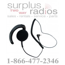 Listen only earpiece E218 2.5mm for motorola Icom vertex kenwood otto speaker mics with 2.5mm audio jack