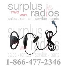 D Ring Headset With PTT for Vertex VX231 VX351 VX351 VX354 VX451 VX454 and more