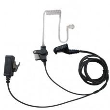 Lapel Microphone FBI Headset For Motorola XPR7350 XPR7380 XPR7550 XPR7580