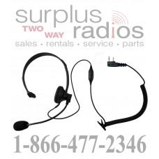 Single ear headset E348 K1 with push to talk and VOX for Kenwood TK3160 TK372 TK272 TK2160 TK3173 TK2173 TK3200