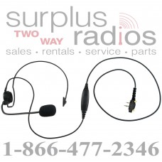 Single behind the head headset E395 S6 with boom mic for Icom F14 F21 F24 F4011 F3001