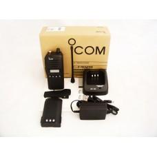 Icom IC-F4021T 01 DTC full keypad 4 watt 128 channels 400-470mhz portable radio