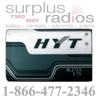 HYT BL1715 li-ion battery for HYT TC-320 TC320