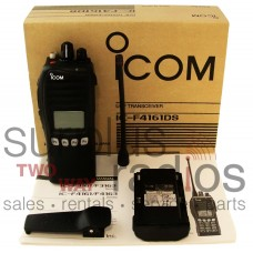 Icom F4161DS 76 UHF 5 watt 512 channel IDAS digital/analog 450-512 MHz