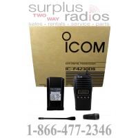 Icom F4230DS 32 IDAS UHF 4 watt 128 channel 8 zones 450-520 MHz