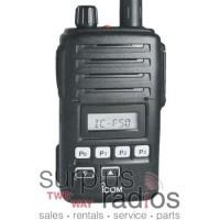 Icom F50 81 FM APPROVED waterproof VHF 5 watt 128 channel 136-174mhz
