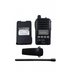 Icom F50V 11 waterproof VHF 5 watt 128 channel 136-174mhz
