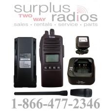 Icom F70DS 01 RC VHF 5 watt 256 channels 136-174 MHz full P25 digital