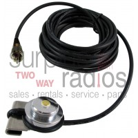 "Tram Browning 1246 UHF/PL-259 trunk mount antenna kit with 17"" RG-58 cable"