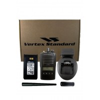 Vertex VX-264-D0 UNI VHF 136-174MHz 5 Watt 128 Channel Portable Two Way Radio with Display