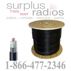 Tram Browning BR-400 braided low loss RG-8/RG-213/9913 type cable (Per foot)
