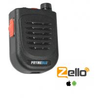 Pryme BTH-500-ZU Bluetooth PTT Wireless Speaker/Mic for Android iPhone Zello App