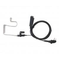 E346NL-H2  2-wire nylon surveillance headset TC-500 TC-508 TC-518 TC-580 TC-610